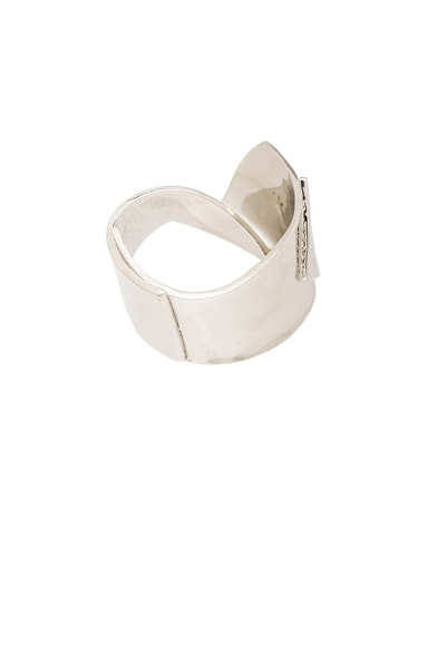 Cast Ribbon Cuff
