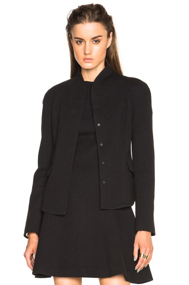 Proenza Schouler Wool Jersey Blazer in Midnight