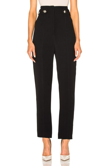 Fluid Viscose Cady Pencil Leg Pants