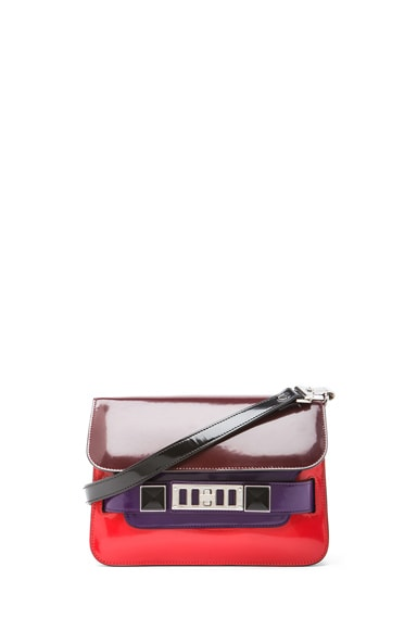 Mini PS11 Classic Colorblocked Shoulder Bag