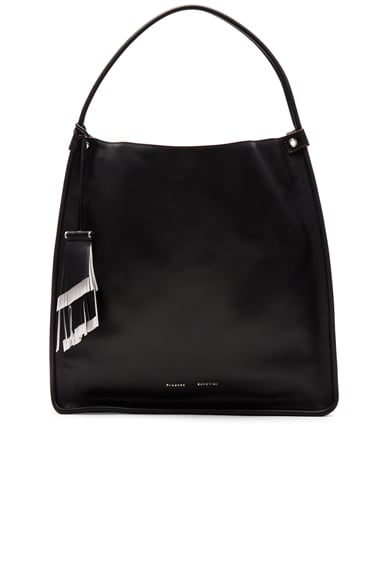Proenza Schouler Large Leather Tote in Black