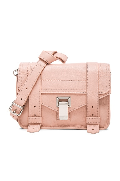 Proenza Schouler Mini PS1 Leather in Bare