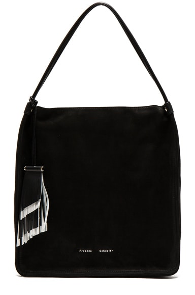 Proenza Schouler Medium Tote Nubuck in Black
