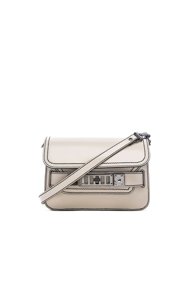 Proenza Schouler Mini PS11 Stitch Spazzolato in White