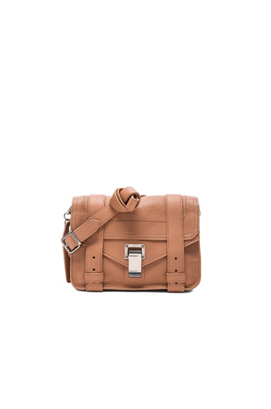 Proenza Schouler Mini Crossbody PS1 in Desert Earth