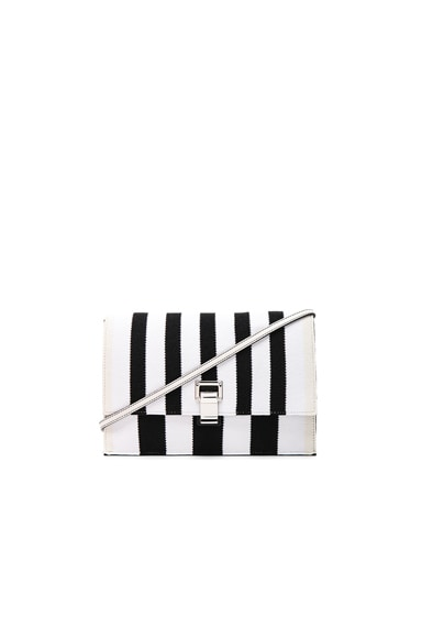 Small Knit Stripe Lunch Bag