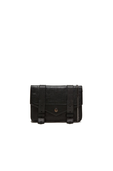 Proenza Schouler Large PS1 Chain Wallet in Black