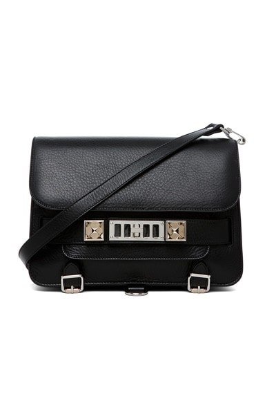 Proenza Schouler PS11 Classic Shoulder Bag in Black