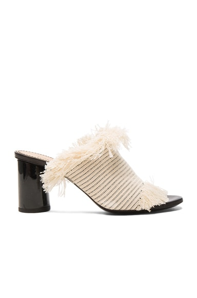 Proenza Schouler Mules in Canvas