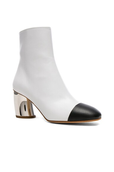 Silver Heel Boots