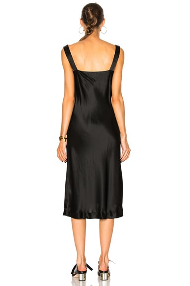 New Draped Slip Dress