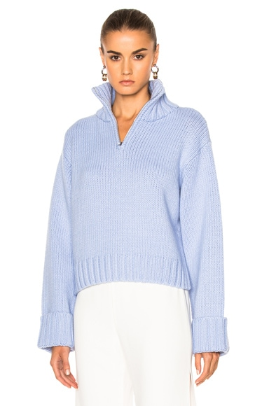 Protagonist Chunky Knit Sweater in Periwinkle