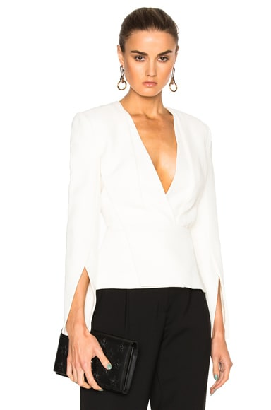 Deep V Tailored Top