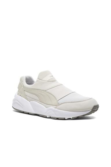 Puma Select x Stampd Trinomic Sock in White
