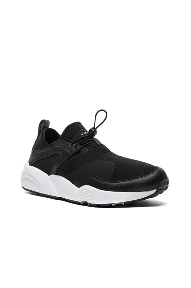 Puma Select x Stampd Blaze of Glory in Black & White