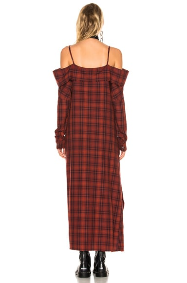 for FWRD Exclusive Mini Apron Dress