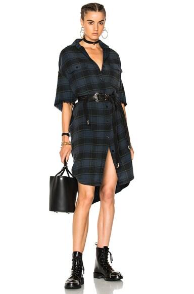 X Long Sleeveless Dress