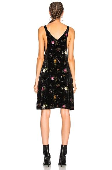 Velvet Mini Slip Dress