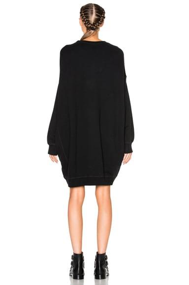 Grunge Sweatshirt Dress