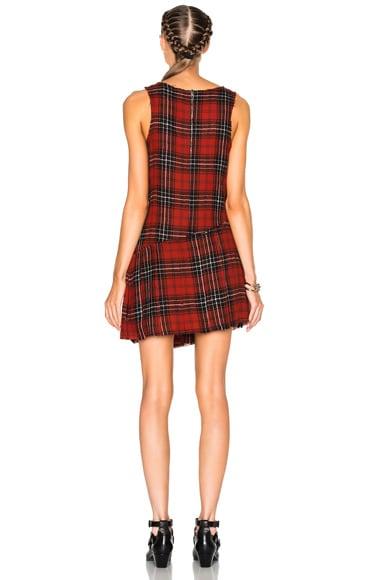 Asymmetrical Kilt Dress