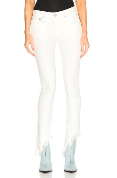 Kate Skinny with Angled Hem