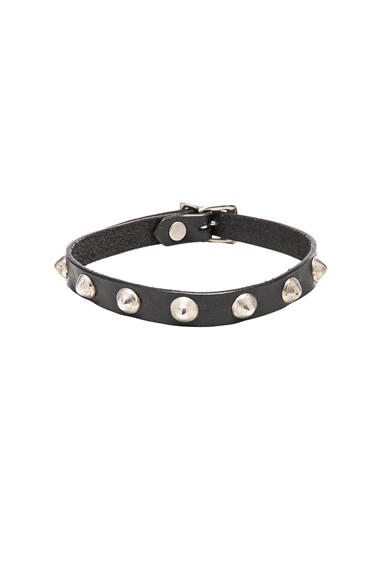 R13 Skinny Choker in Black