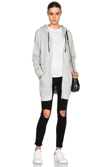 Long Hoodie Sweatshirt