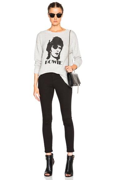 Bowie Distressed Sweatshirt