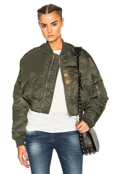 Flight Crop Jacket