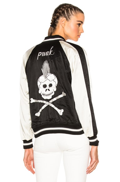 Reversible Punk Sukajan Bomber Jacket