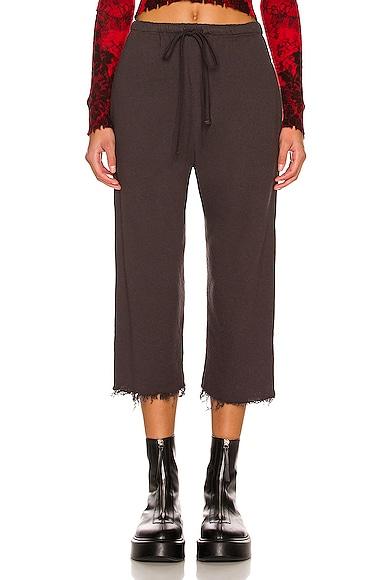 R13 Field Sweatpants in Vintage Black