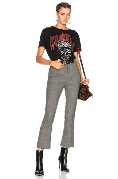 Skinny Kick Flare Trouser Pant