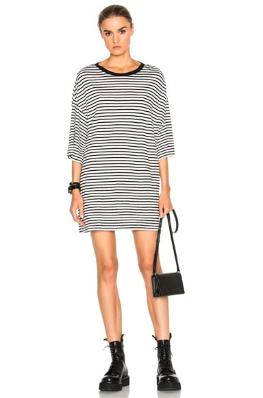 Oversized Striped Boyfriend T