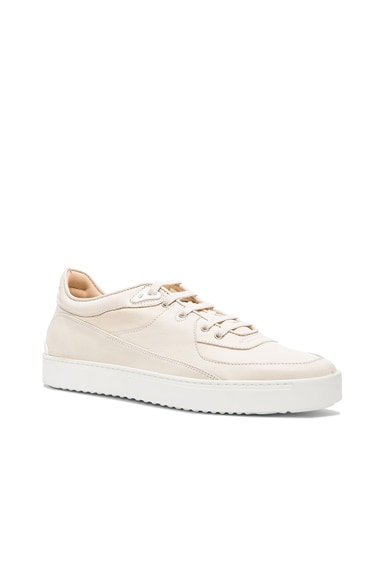 rag & bone Wade Leather Sneakers in Off White