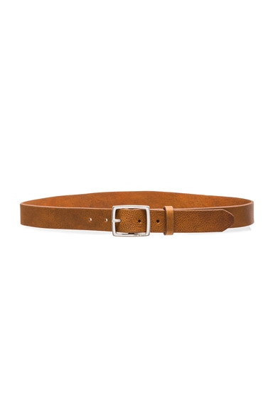 rag & bone Boyfriend Belt in Brown