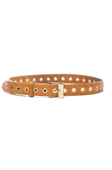 rag & bone Delia Belt in Nude