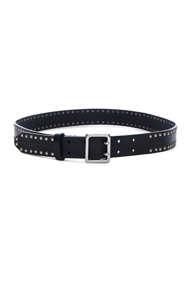 Rag & Bone Willow Belt in Black