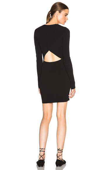 rag & bone Galina Dress in Black