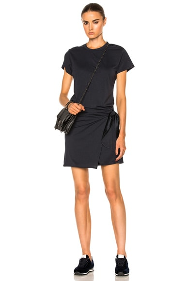 Rag & Bone Andie Tee Dress in Navy