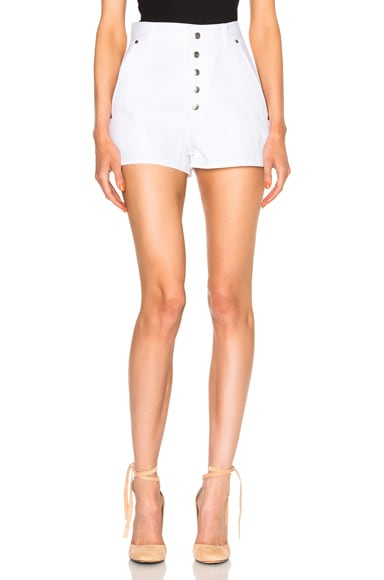 Rag & Bone Branson Shorts in White