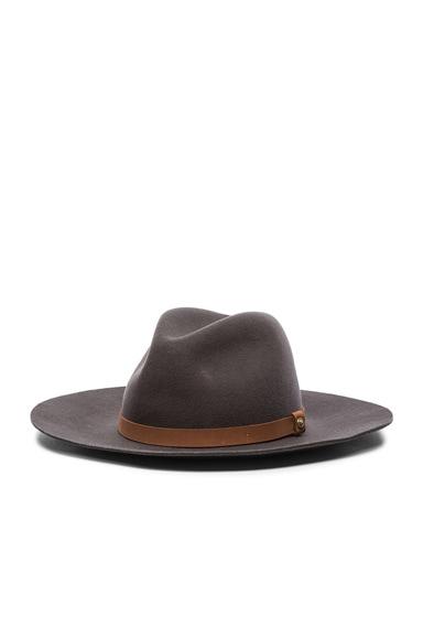 Wide Brim Fedora Hat