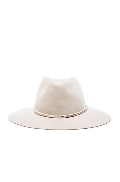rag & bone Range Fedora Hat in Beige