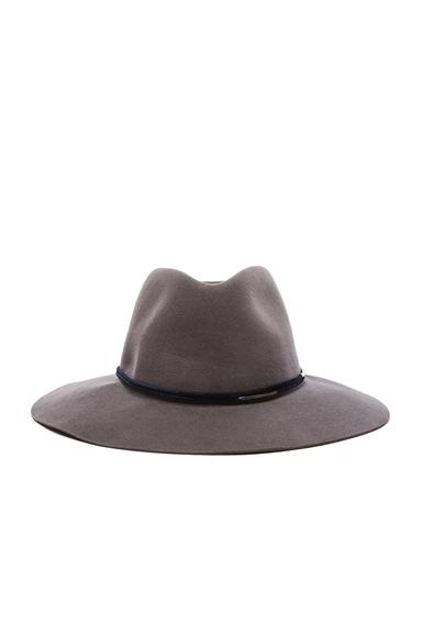 rag & bone Range Fedora Hat in Grey