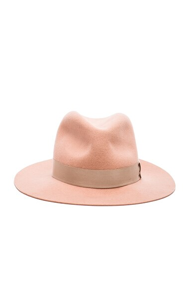 rag & bone Floppy Brim Fedora Hat in Cork