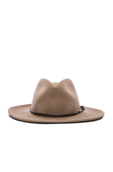 rag & bone Dakota Hat in Almond