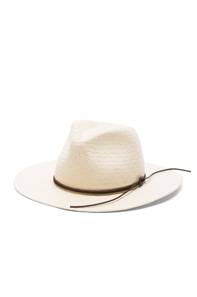 Packable Straw Fedora