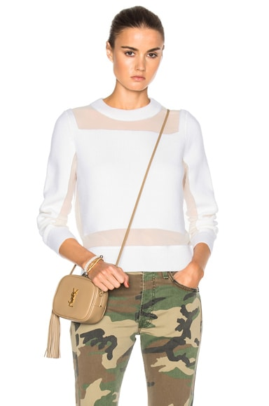 Rag & Bone Emery Sweater in Ivory
