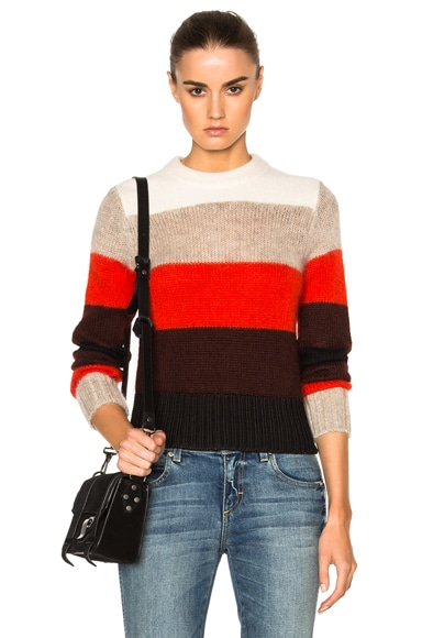 Rag & Bone Britton Sweater in Ivory