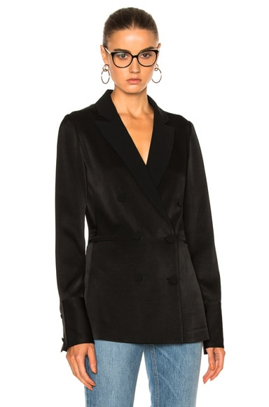 Rag & Bone Adler Blazer Top in Black