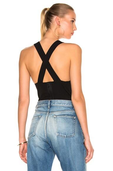 Rag & Bone Elle Bodysuit in Black